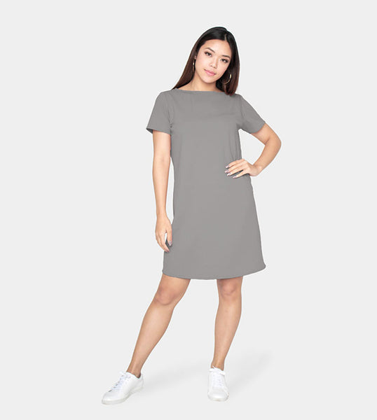 The Everyday Dress (Gray) - Style