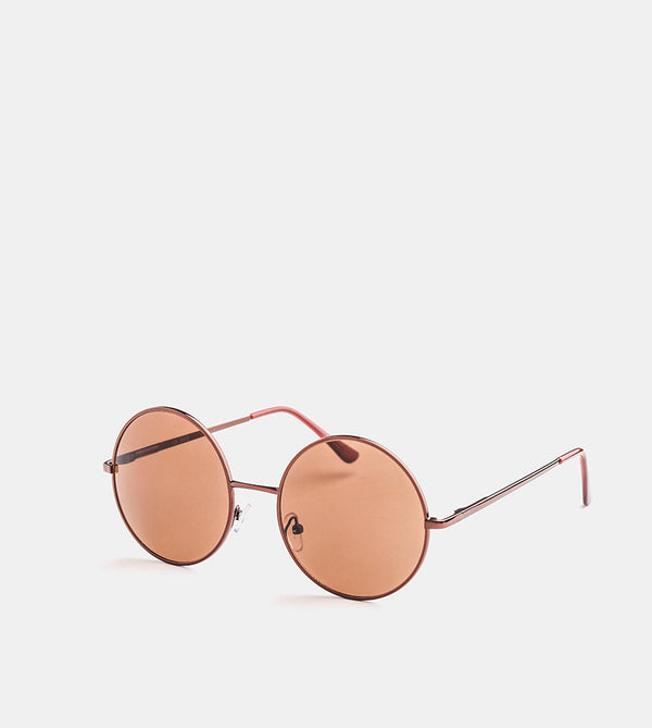 The Match Sunglasses (Brown Frame w/ Brown Lens) - Diagonal