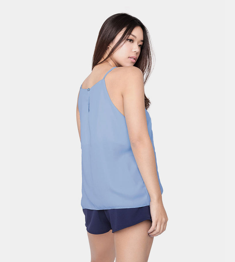 The Weekend Camisole (Light Blue) - Back