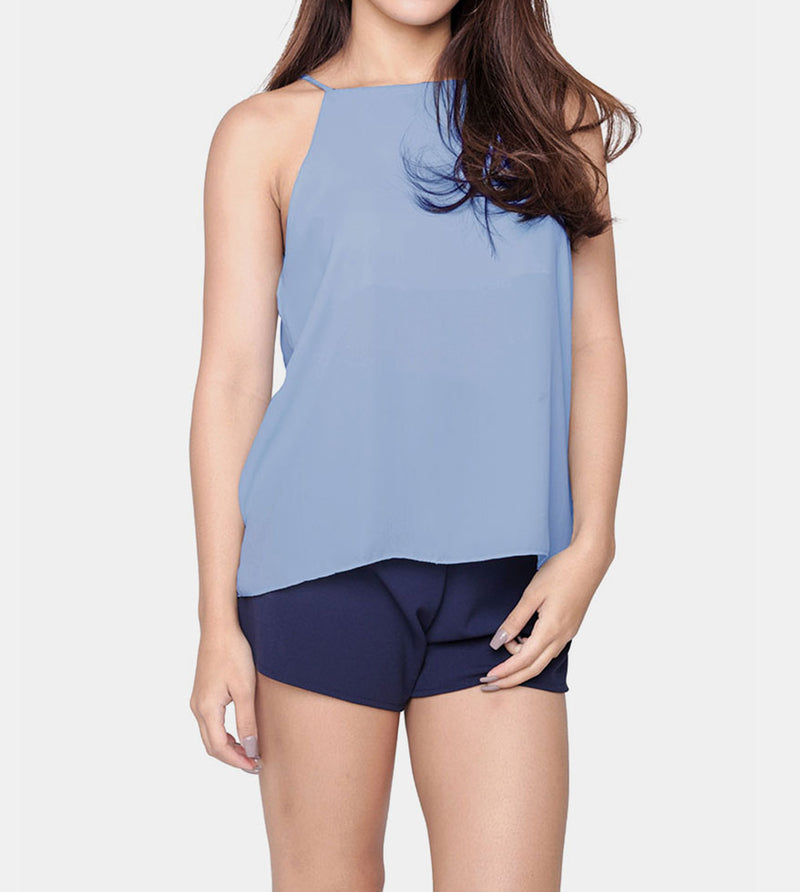 The Weekend Camisole (Light Blue) - Front
