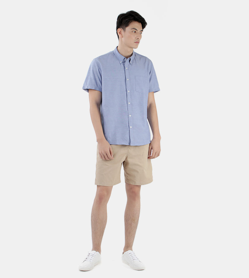 Work & Play Button Down (Light Blue) - Style