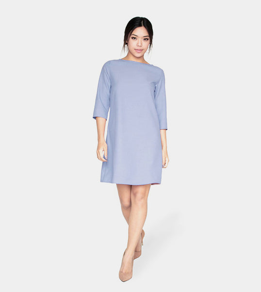 The Serenity Dress (Light Blue) - Style
