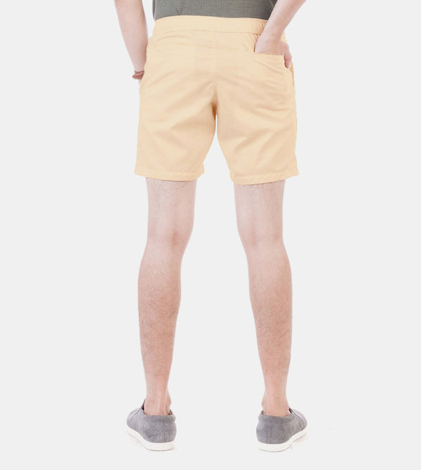 Summer Shorts (Light Peach) - Back