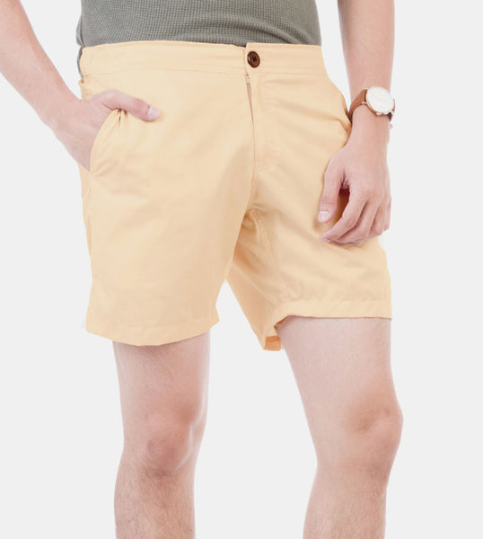 Summer Shorts (Light Peach) - Diagonal
