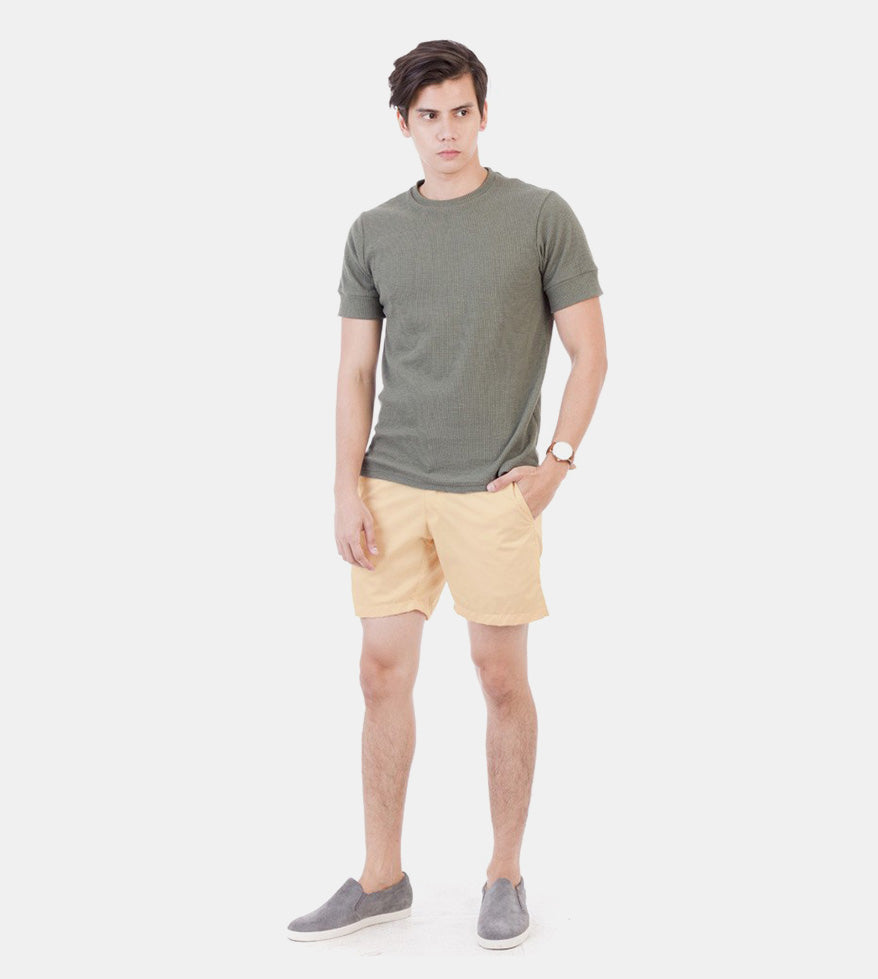 Summer Shorts (Light Peach) - Styled