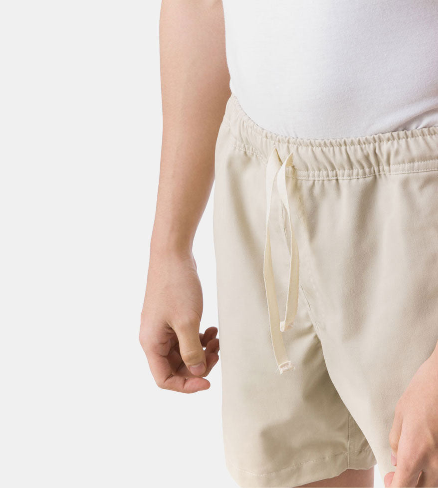 Tailored Shorts (Light Stone)