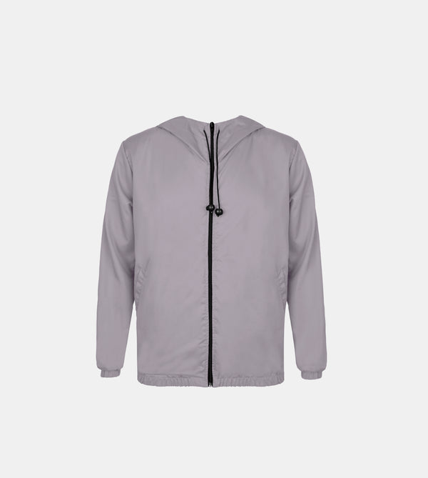 Lite Tech Travel Jacket (Light Gray)