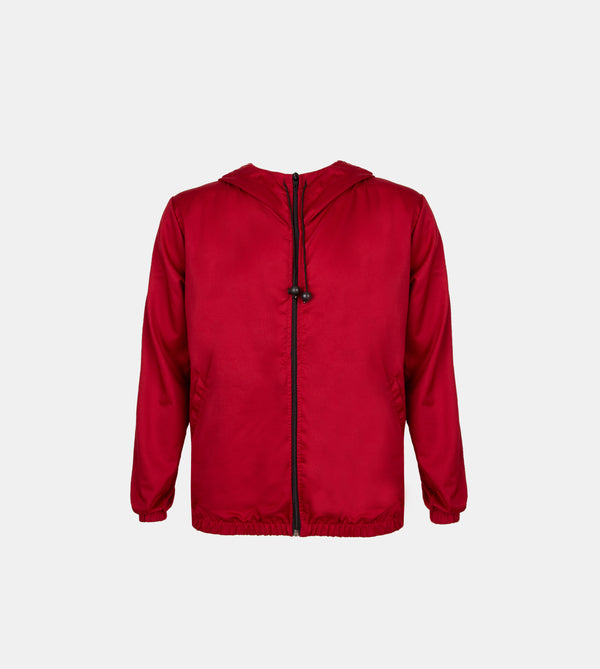 Lite Tech Travel Jacket (Maroon)