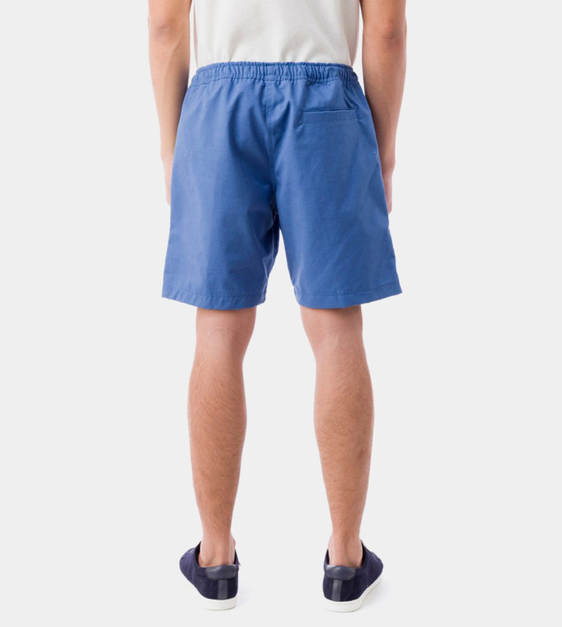 Tailored Shorts (Azure) - Back