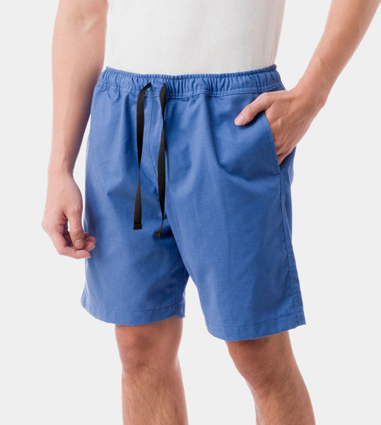 Tailored Shorts (Azure) - Diagonal