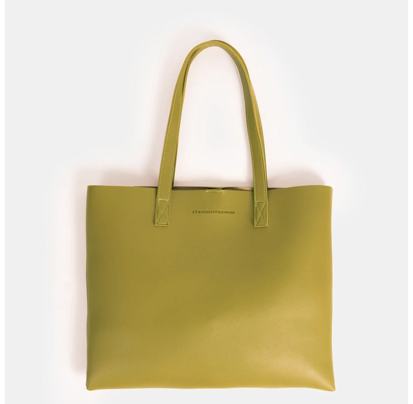 D. V. L. Landscape Tote Bag (Avocado)