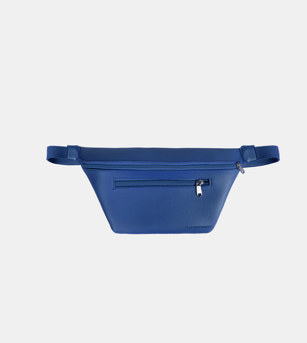 D. V. L. Multi-pocket Belt Bag (Blue)