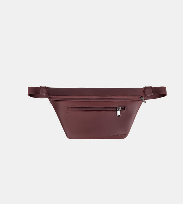D. V. L. Multi-pocket Belt Bag (Chestnut)