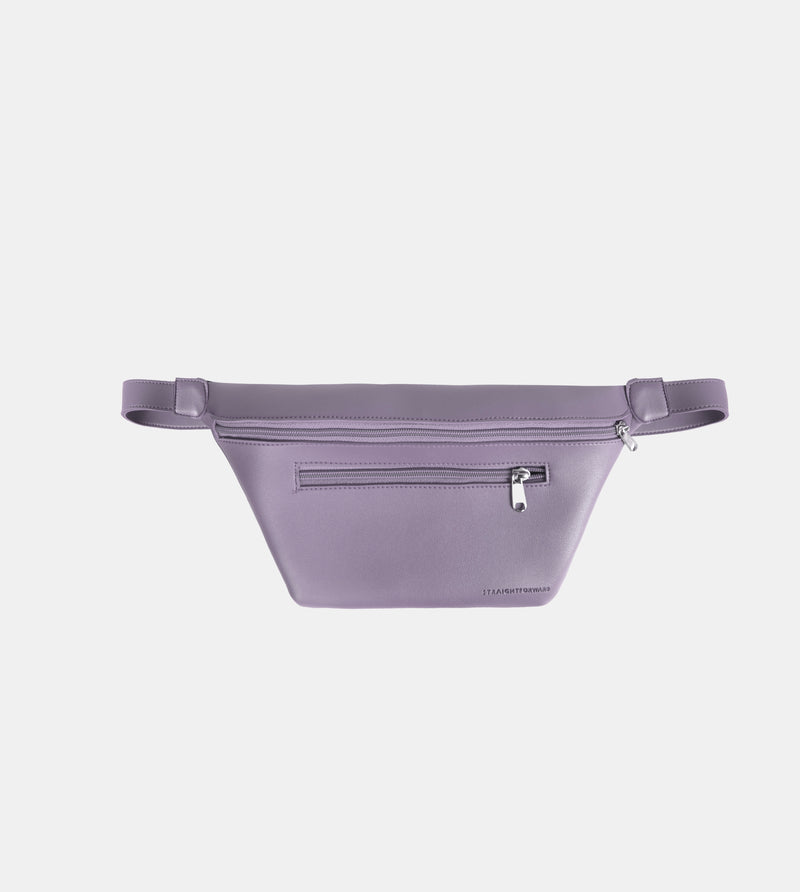 D. V. L. Multi-pocket Belt Bag (Light Gray)