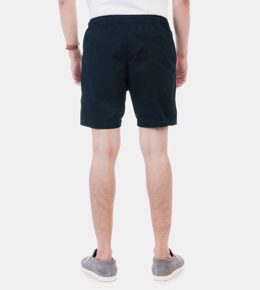 Tailored Shorts (Oxford Blue) - Back