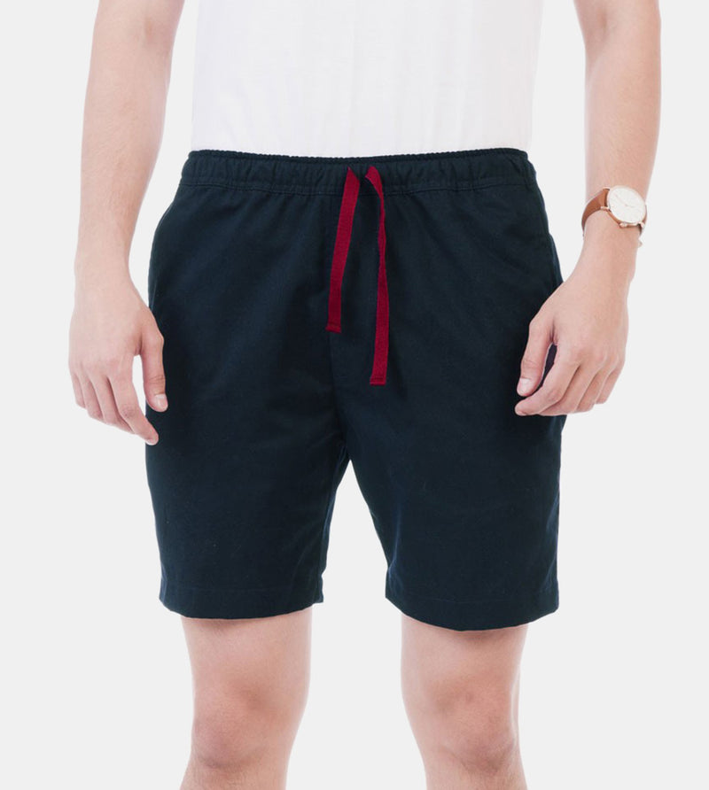 Tailored Shorts (Oxford Blue) - Front