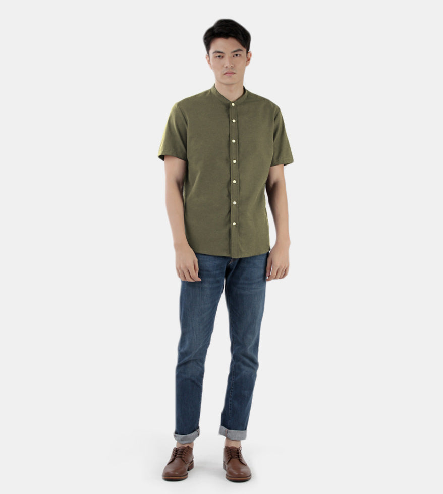 Work & Play Mandarin (Olive Green) - Style