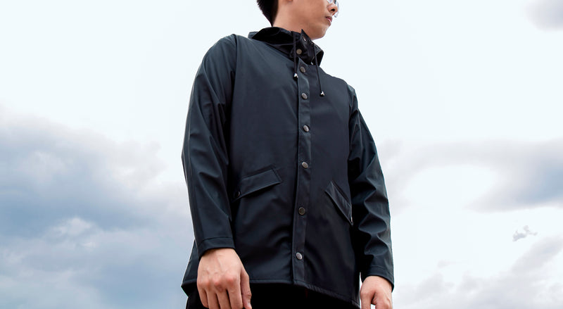 OmniResist Parka Jacket (Navy Blue)