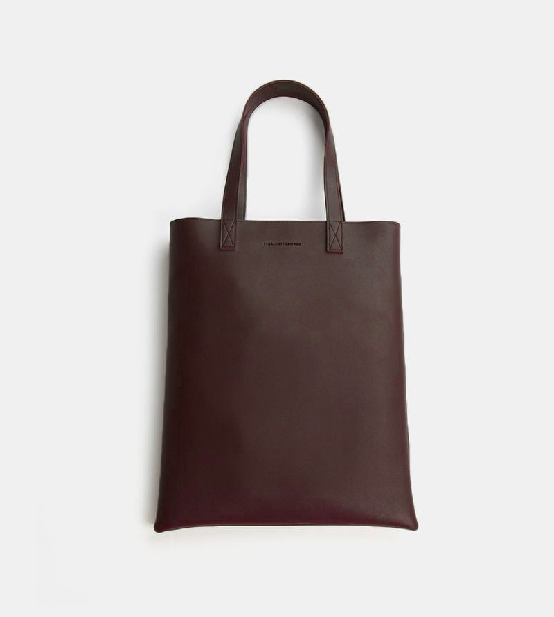 D. V. L. Portrait Tote Bag (Chestnut)