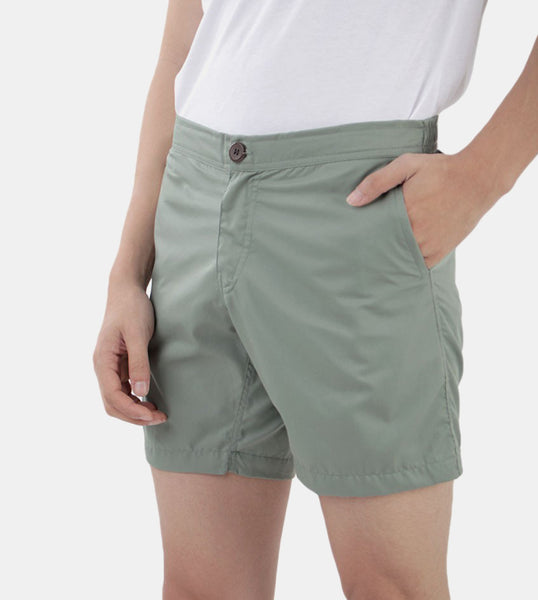 Summer Shorts (Sea Green) - Front