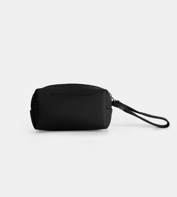 Daily Vegan Leather Coin Pouch (Cube)