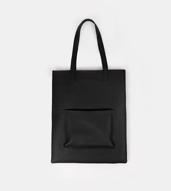 D. V. L. Tote with Patch Pocket (Black)