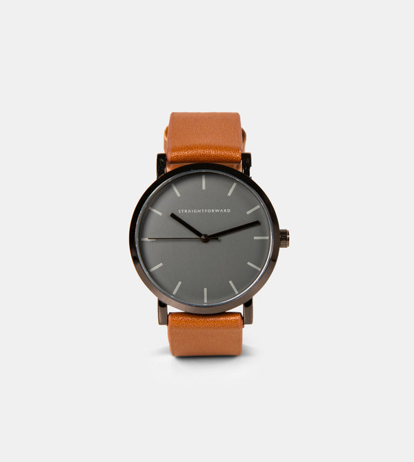 The Everyday Watch (Brown and Black)