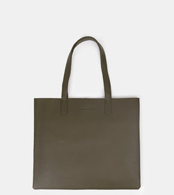 D. V. L. Landscape Tote Bag (Army Green)
