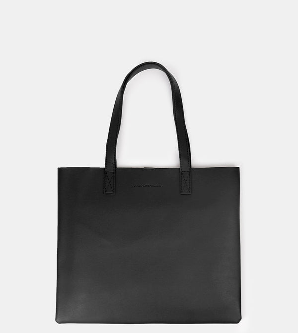 D. V. L. Landscape Tote Bag (Black)