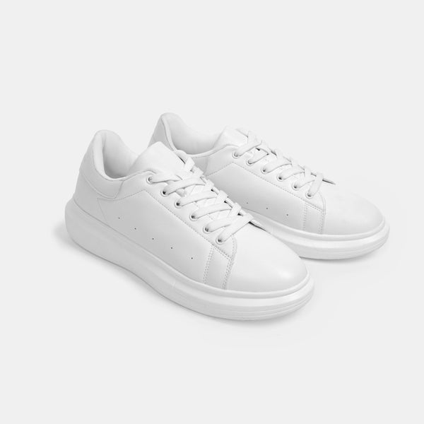 Men's Superlight White Sneakers (White)