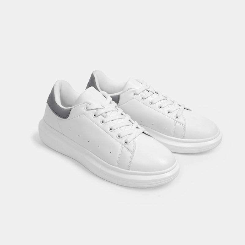 Men's Superlight White Sneakers (Gray)