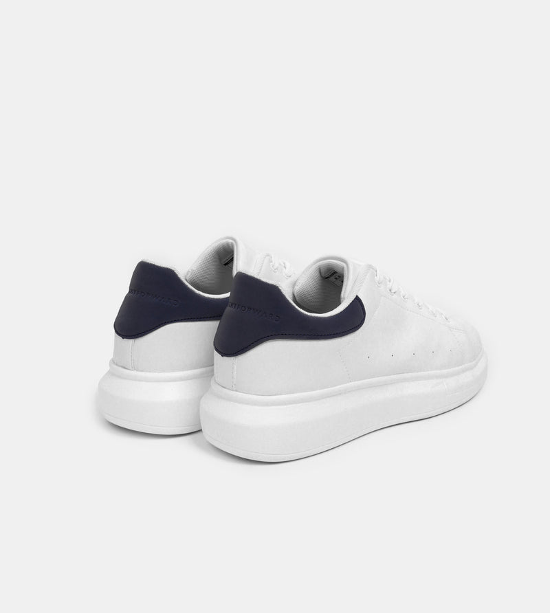 Men's Superlight White Sneakers (Navy Blue)