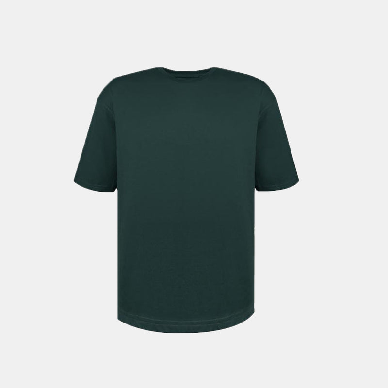 Weighted Blend Oversized Tee (Green)