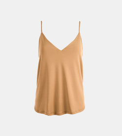 Summer Cotton Easy Camisole (Cream)