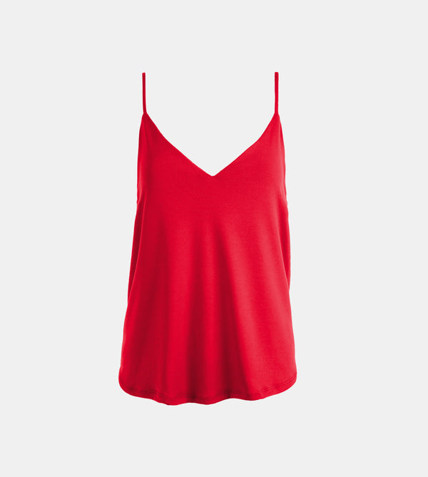 Summer Cotton Easy Camisole (Maroon)