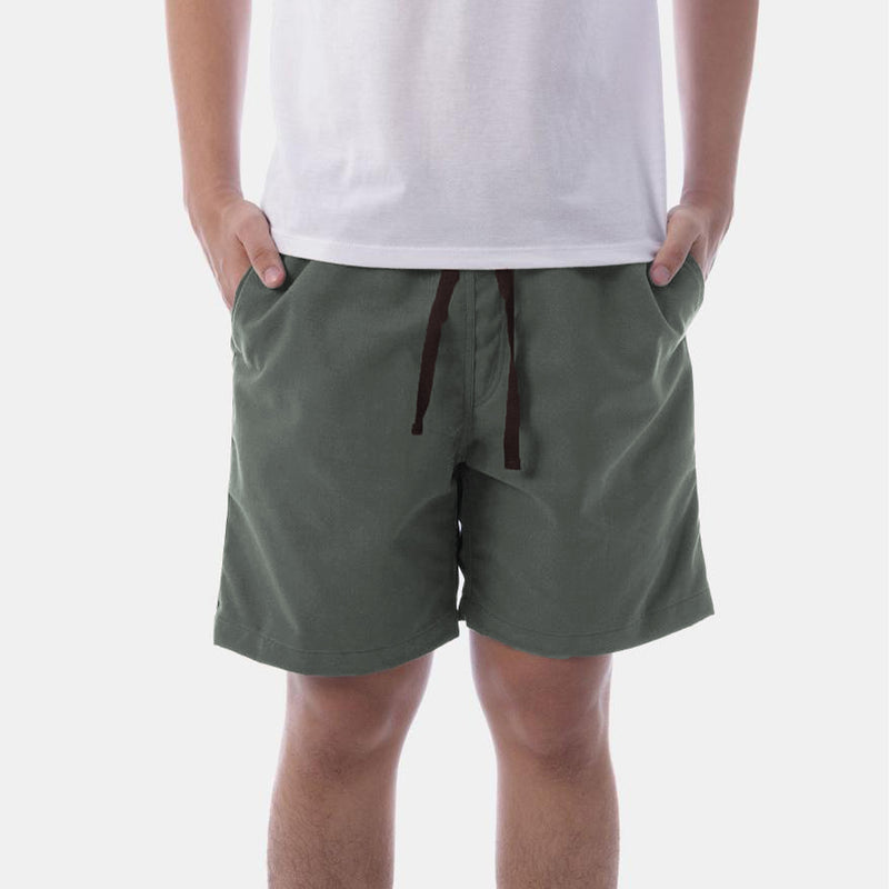 Tailored Shorts (Vine Green)