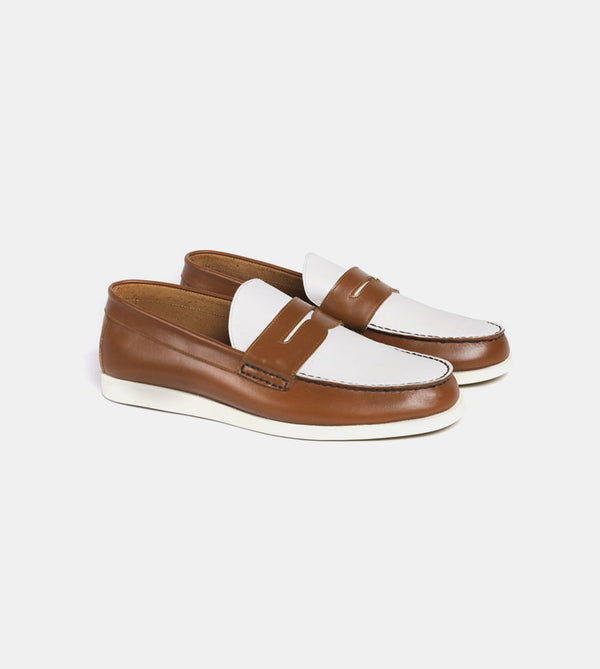 Loafers (Tan) - Profile