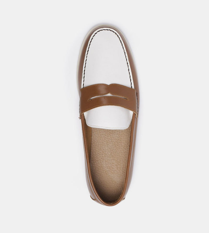 Loafers (Tan) - Top