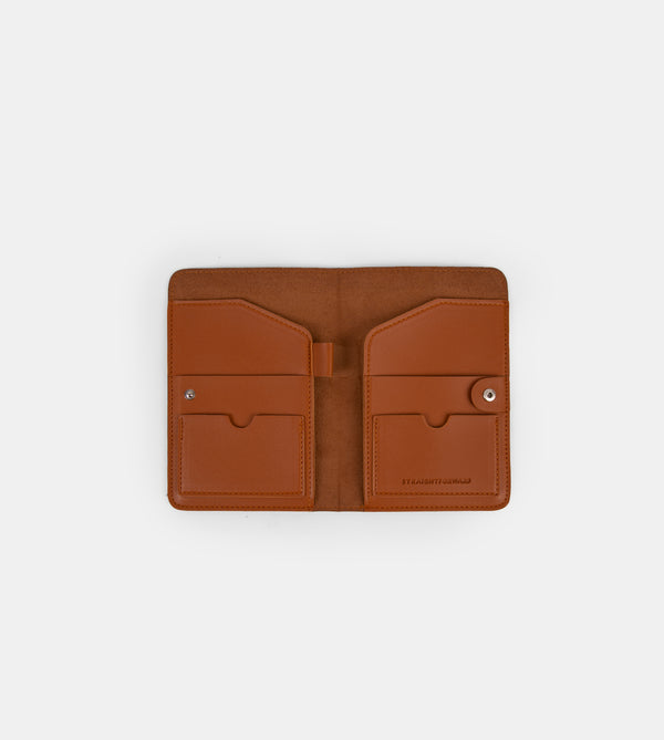 D.V.L. Passport Holder (Tan)