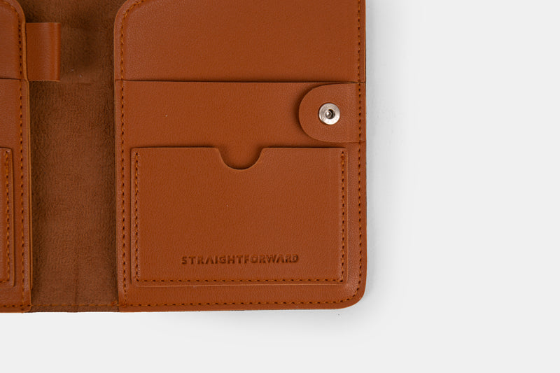 D. V. L. Passport Holder (Tan)