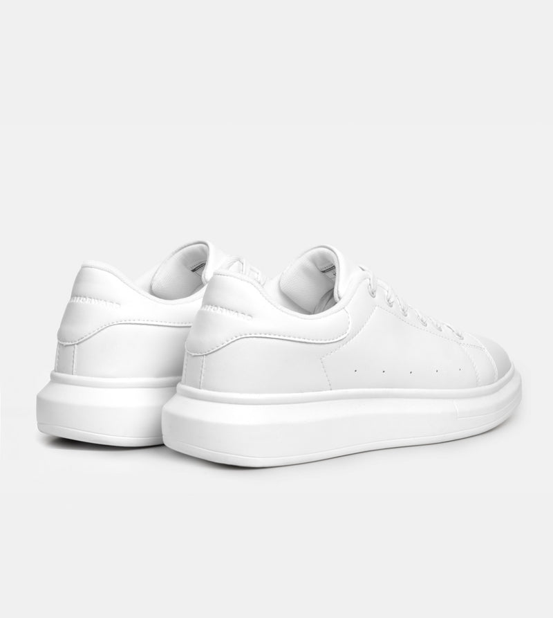 Women's Superlight White Sneakers (White)