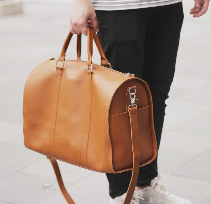 D.V.L. Duffel Bag (Tan)