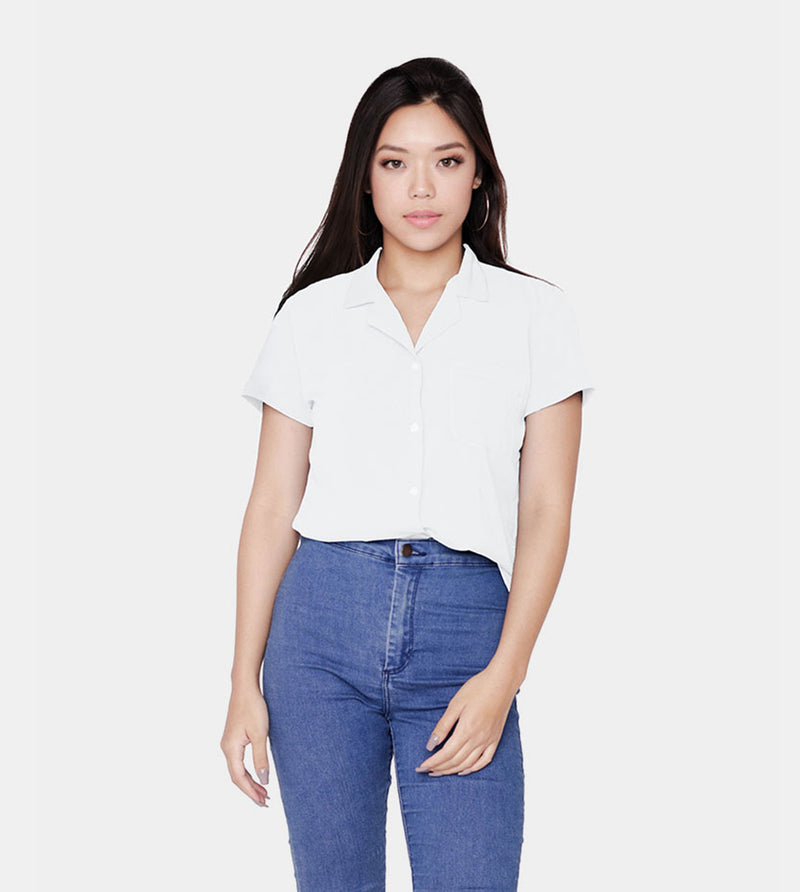 The Experience Smartshirt (White) - Front