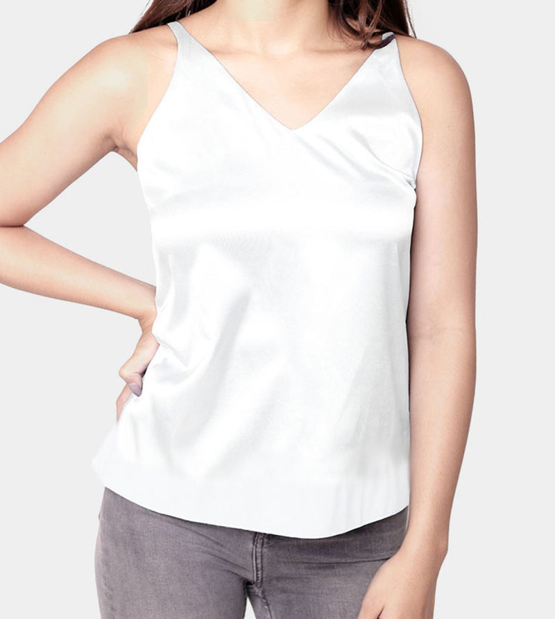 The Anti Stress Tank (White) - Front
