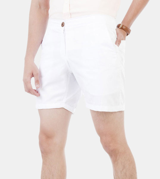 Summer Shorts (White) - Diagonal