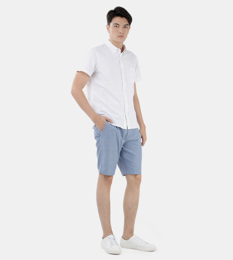Work & Play Button Down (White) - Style