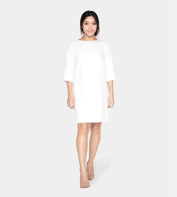 The Serenity Dress (White) - Style