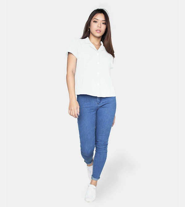 Thhe Experience Smartshirt (White ) - Style
