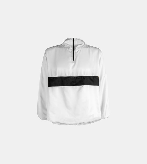 Sleek Techweave Combi Anorak (White)