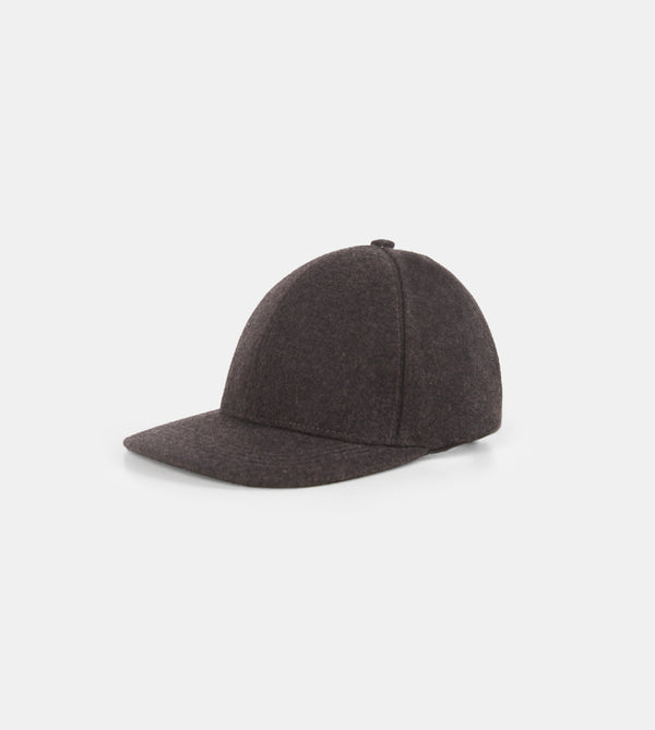 Prime Wool Baseball Cap (Dark Gray)